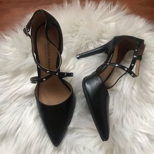 Shoes - Pointed Toe Strappy Heels